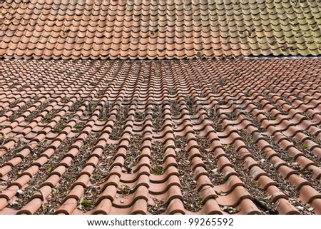 Tiles composition - stock photo