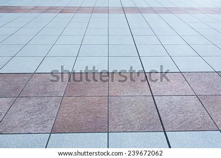 Tiles floor background - stock photo