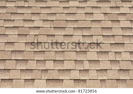 tiles roof background - stock photo