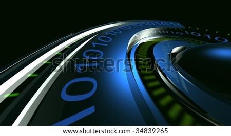 time-clock - stock photo
