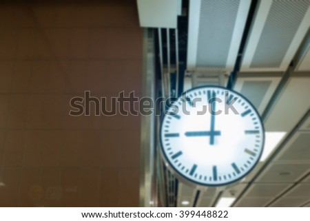 time clock blur abstract blurred action