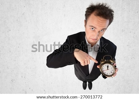 Time, Clock, Urgency. - stock photo