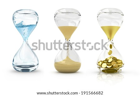 Time concept collection - stock photo
