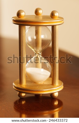 Time concept, selective focus point, special toned photo f/x  - stock photo