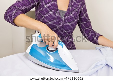 Time for ironing shirts