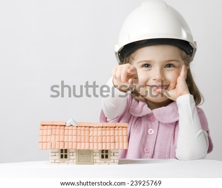 Time for new house - stock photo