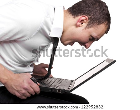 Time for stress - stock photo