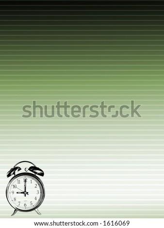 Time Illustration 2 - stock photo