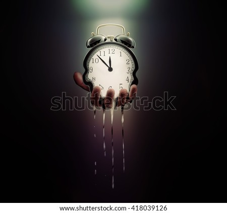 Time is running out - stock photo