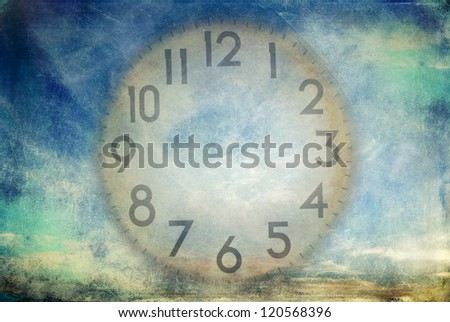Time management concept. Please check portfolio for other similar images. - stock photo