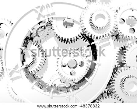 time metamorphoses - stock photo