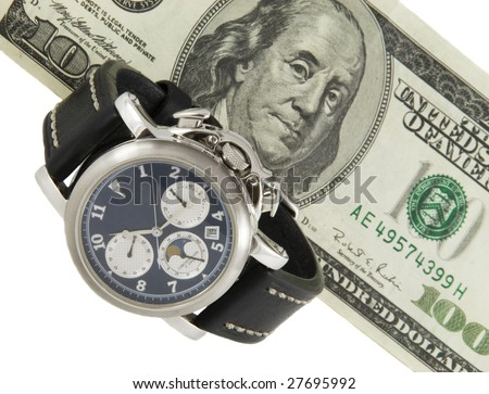 Time & money - stock photo