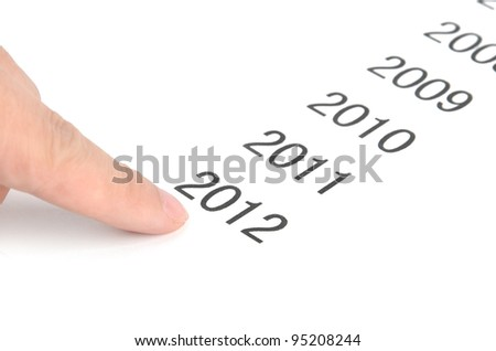 Time passing - stock photo