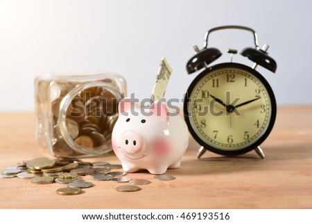 Time, Savings, Time is Money.