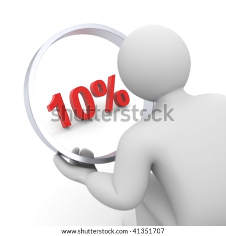 Time to discount - stock photo