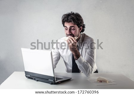 time to eat - stock photo