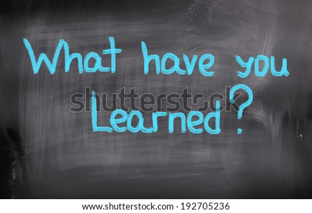 Time To Learn Concept - stock photo