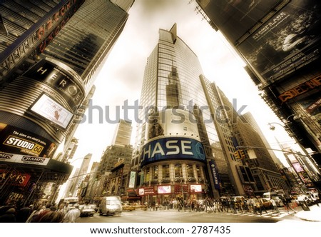 Times Square, Manhattan,NY - stock photo