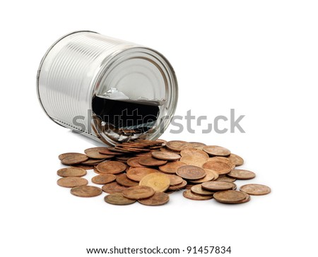 tin - a great place to store money