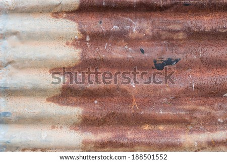 Tin Roof abstract rusty ,Rusted galvanized iron plate,Rusted galvanized iron roof plate