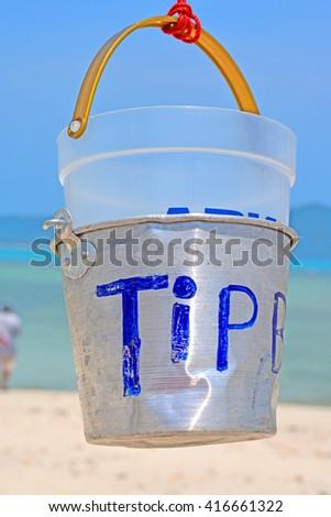 Tip Box - stock photo
