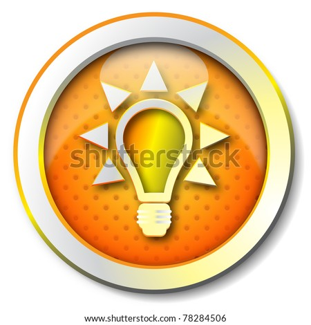 Tips icon - stock photo