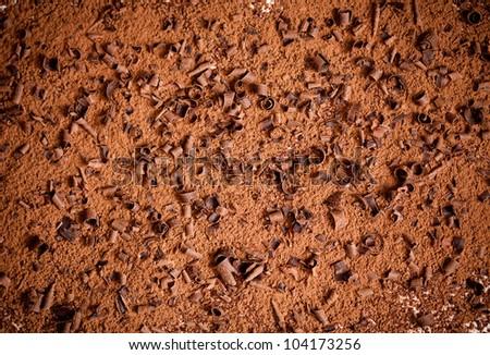 Tiramisu cake - stock photo