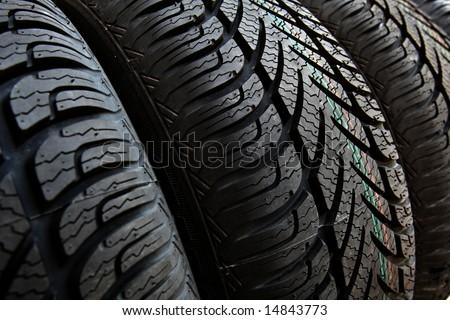 tire, tyre - stock photo