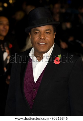 Tito Jackson arriving for the UK premiere of 'Michael Jackon The Life of an Icon', Empire Leicester Square London. 02/11/2011 Picture by:  Simon Burchell / Featureflash - stock photo