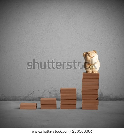 To be successful and earn more money - stock photo