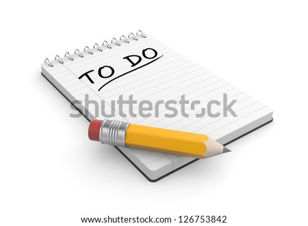 To do list - stock photo