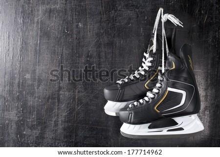 To lose a hockey match. I retire. - stock photo