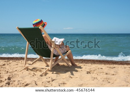 to relax on the beach
