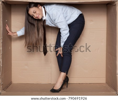 to small office for a business woman