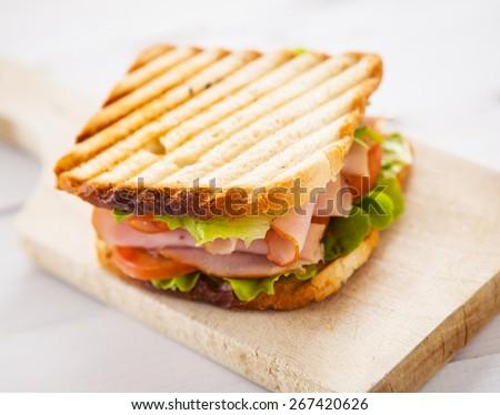 Toast Sandwich - stock photo
