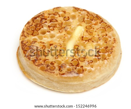 Christmas naked crumpet