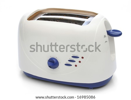 Toaster, from my objects series - stock photo