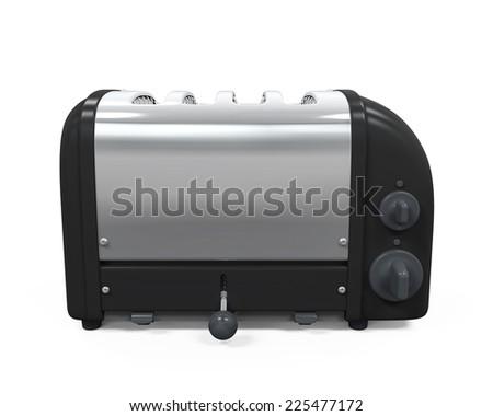 Toaster Isolated - stock photo