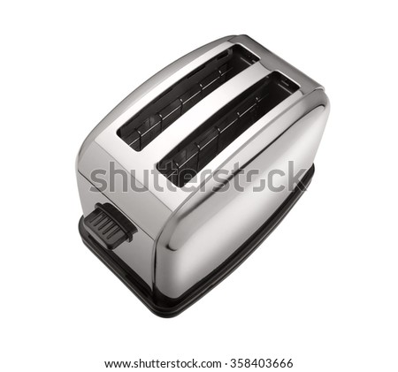 toaster isolated  - stock photo