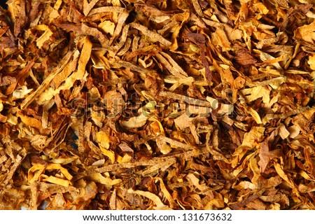 tobacco texture - stock photo