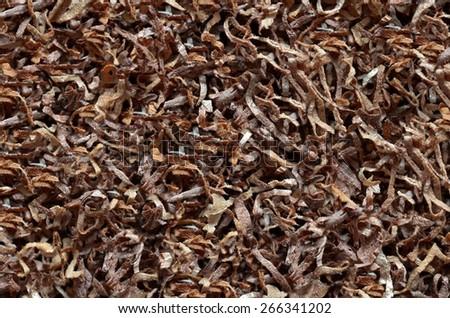 tobacco texture background - stock photo