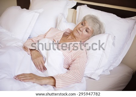 Today I don't have to get up early - stock photo