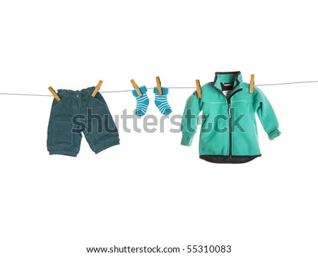 Toddler cloth - stock photo
