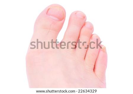 toe - stock photo