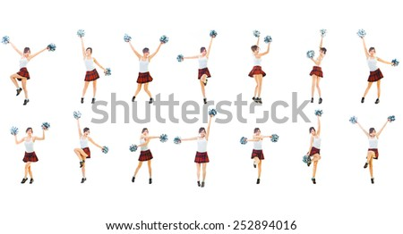 Together we'll Win United we Act  - stock photo