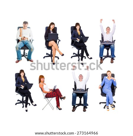 Together we Stand Achievement Idea  - stock photo