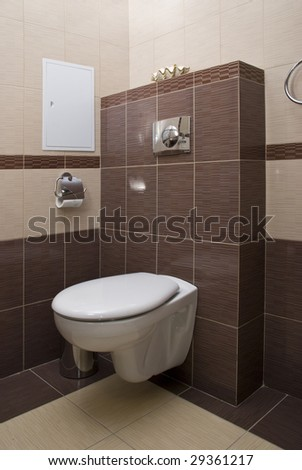 Toilet in home