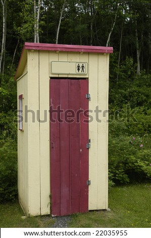Toilet In The Country