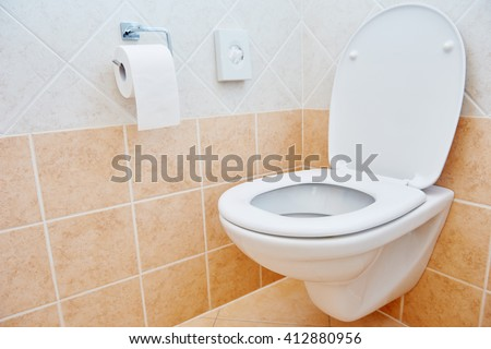 toilet sanitary sink or bowl and paper