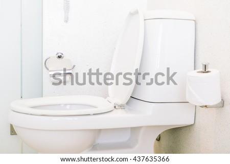 White toilet bowl stock photo 235491238 shutterstock - Deco toilettes ...